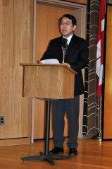Ambassador Monji Opening Exhibition