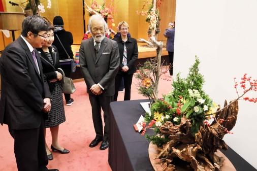 Ambassador, Mr. Kikuchi, Marie-Eve Coupal