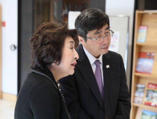 H.E. Ambassador and Mrs. Ishikane